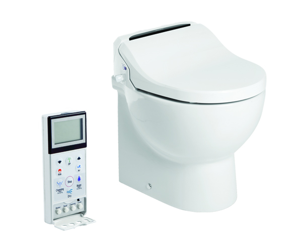 Elegant New Marine Toilet Incorporates Electronic Bidet