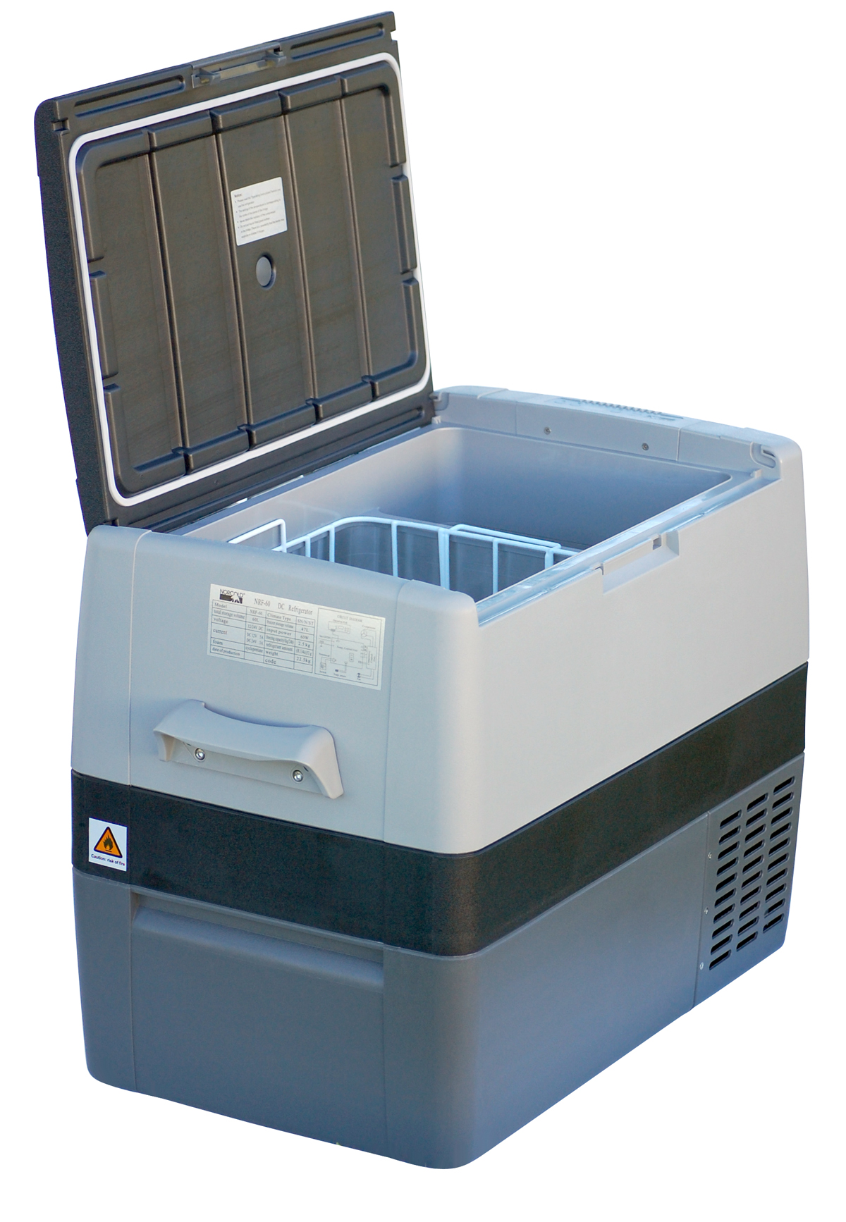 Portable fridge/freezers deliver cold wherever needed