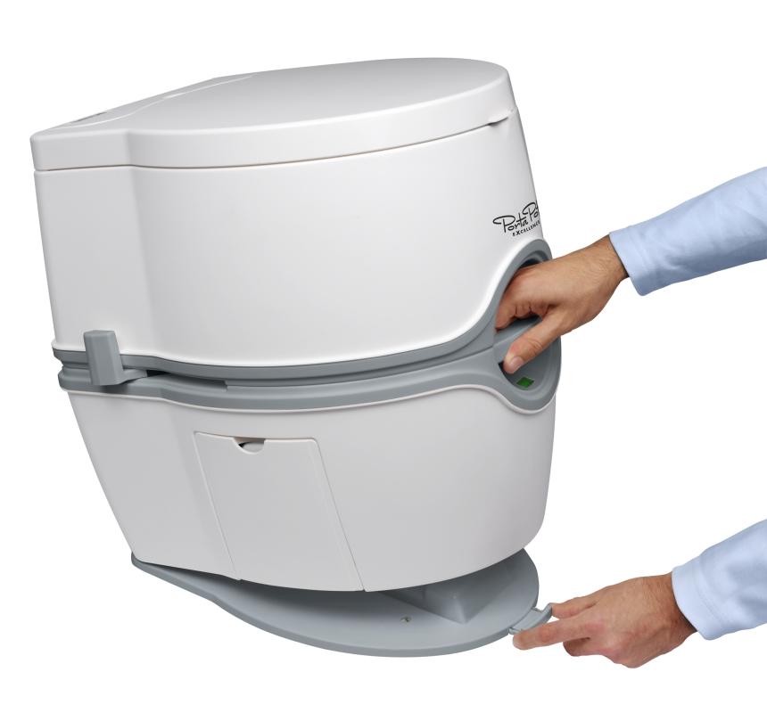 Porta potti excellence thetford marine for Pot de chambre camping