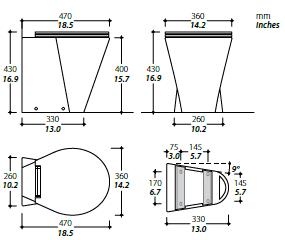 X-Light toilet