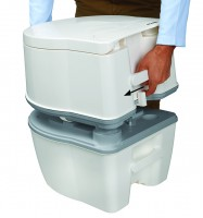 Porta Potti Excellence Floorplate Open Detail