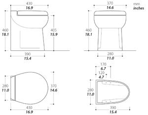 Elegance Toilet