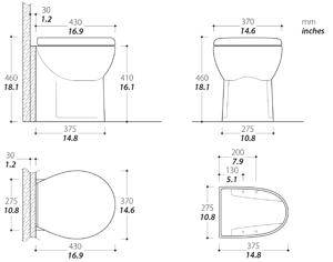 Saninautico Toilet