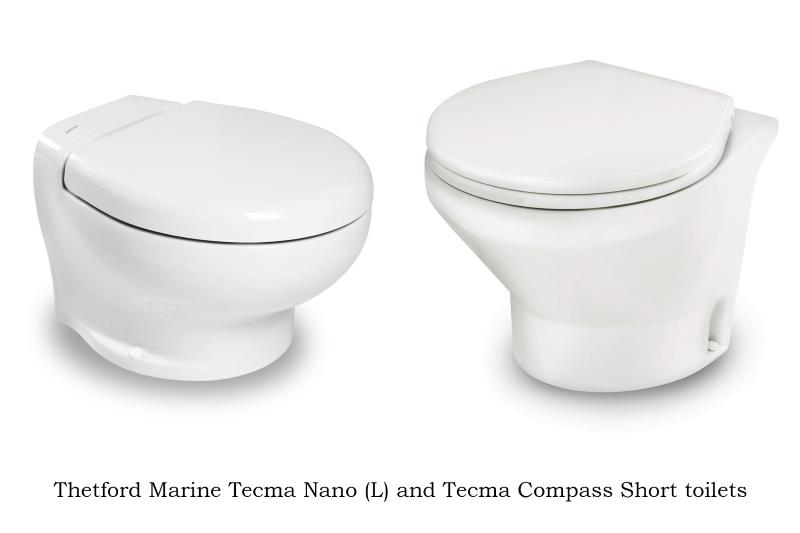 New TECMA toilets